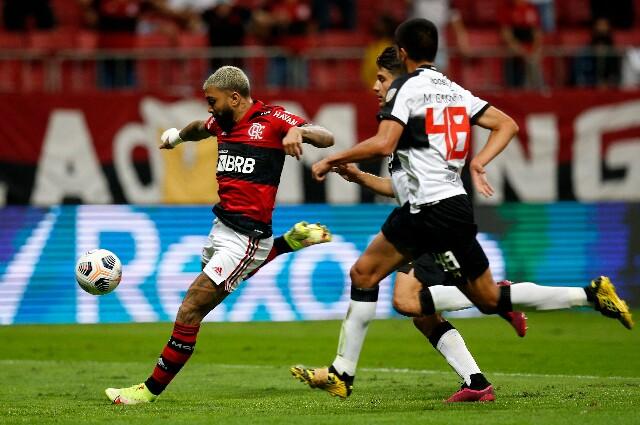 Flamengo contra Olimpia, en Copa Libertadores