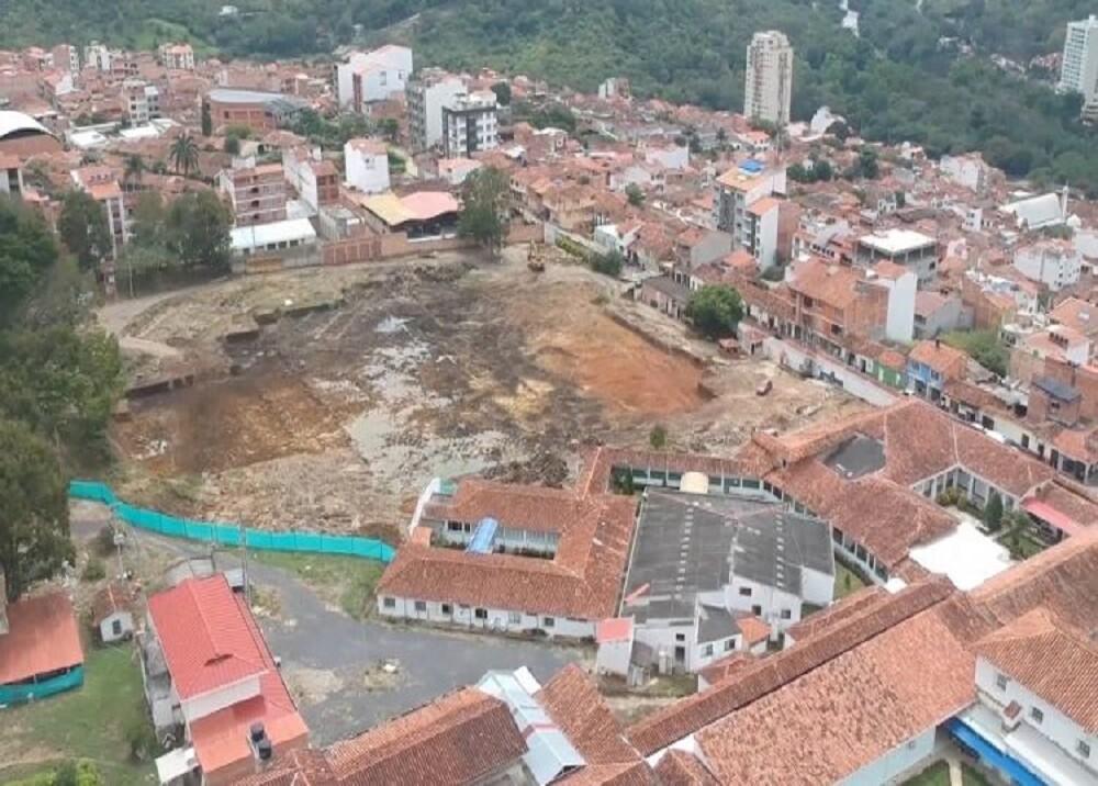 372528_Construcción del hospital de San Gil / Foto: Telesangil