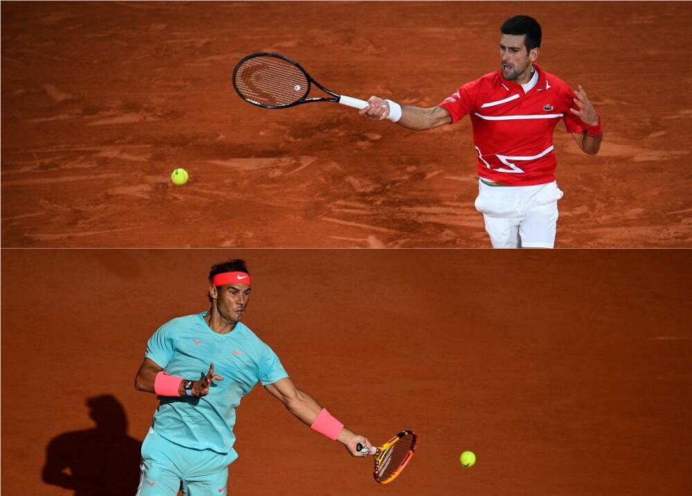 Novak Djokovic contra Rafael Nadal