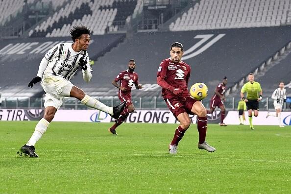 Juan Guillermo Cuadrado, Juventus vs Torino