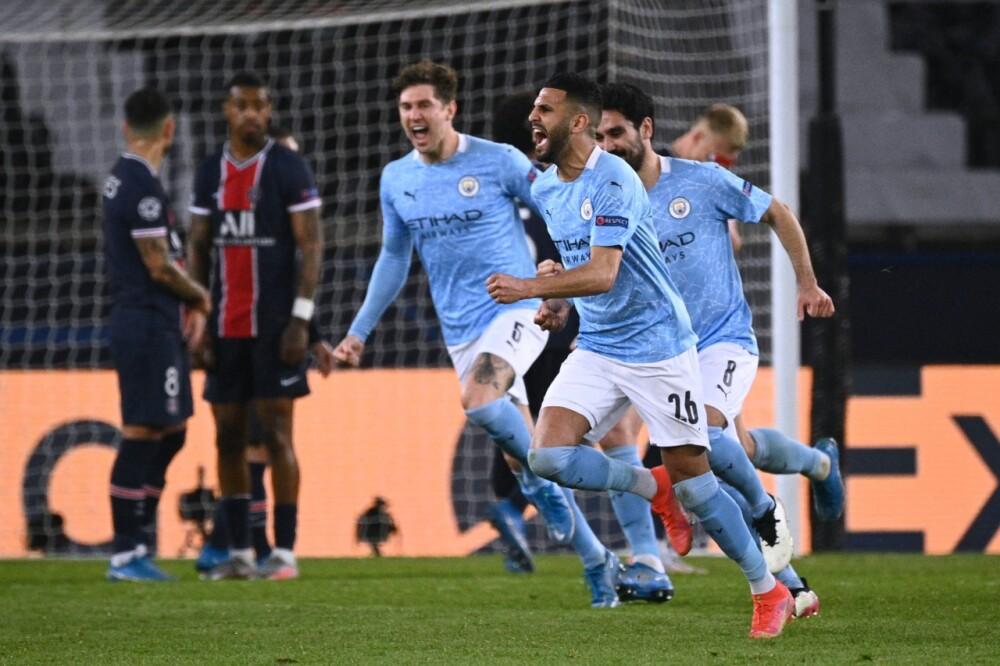 Manchester City PSG AFP.
