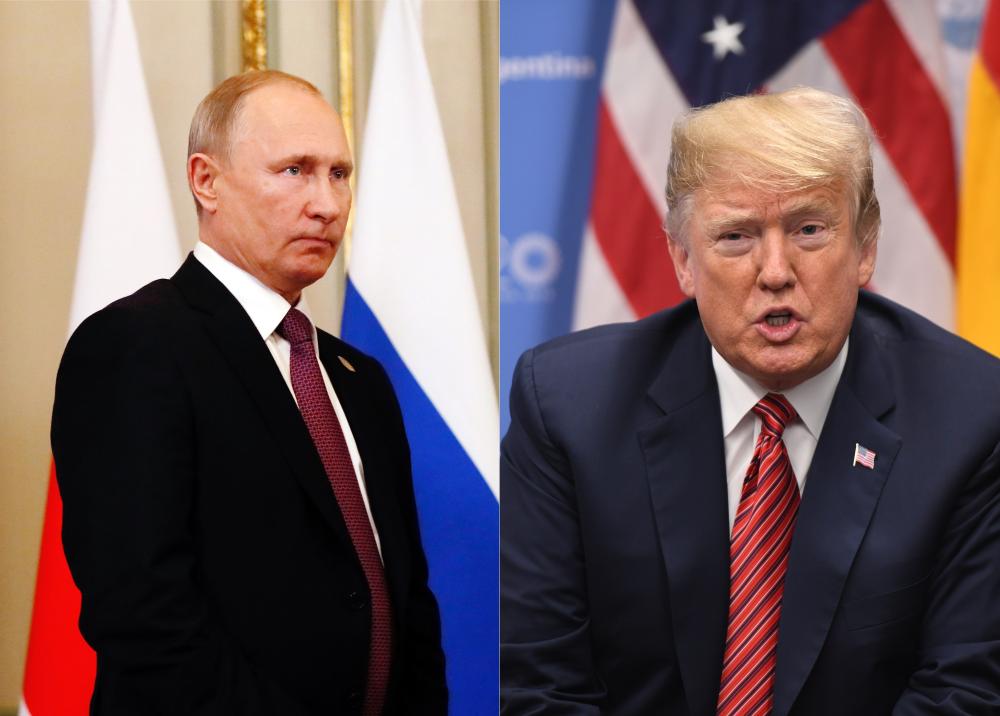 321259_Blu Radio // Vladímir Putin y Donald Trump // Fotos: AFP