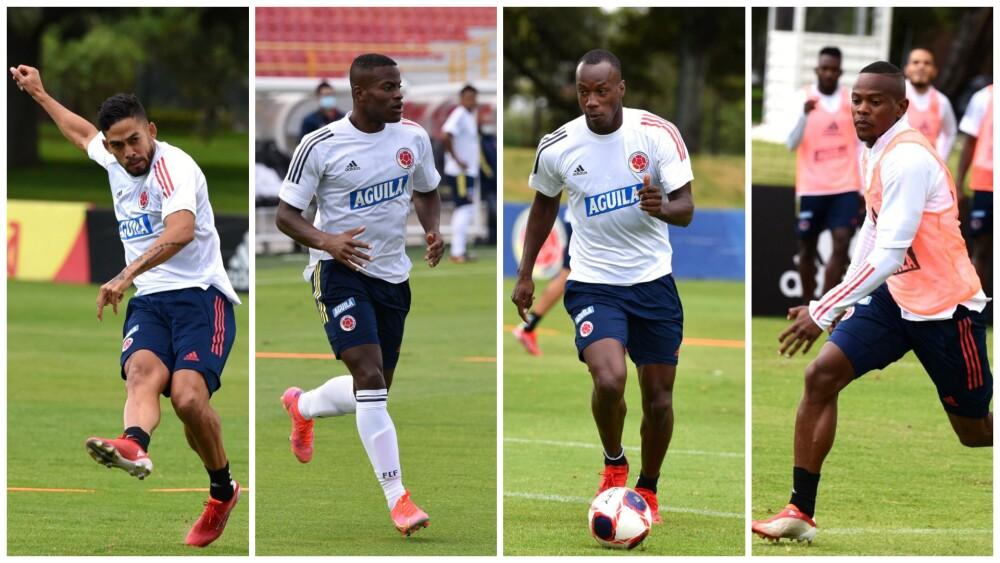 Jugadores de la Liga colombiana convocados a la Selección Colombia