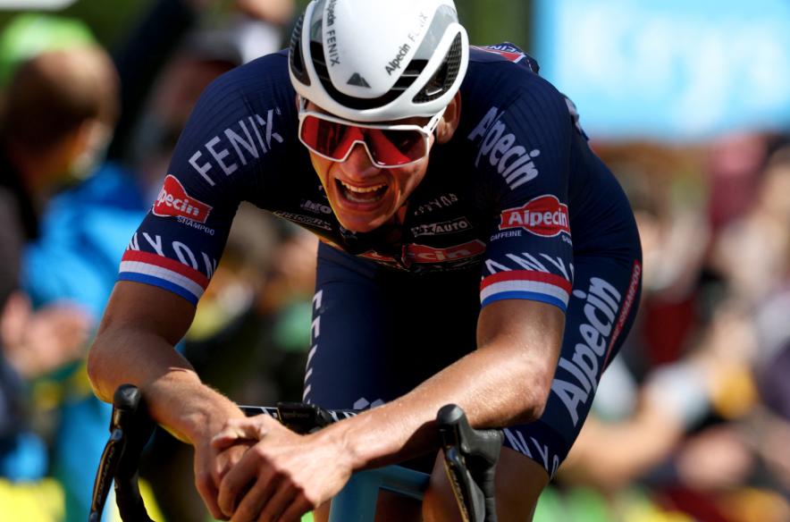 Mathieu Van der Poel es nuevo líder del Tour de Francia tras ganar la etapa 2.
