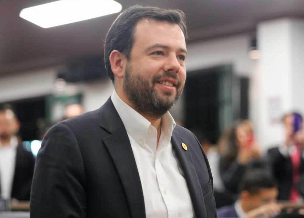 351887_Carlos Fernando Galán, presidente del Concejo de Bogotá // Foto: Twitter @ConcejoDeBogota