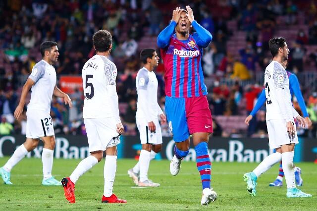 Barcelona contra Granada, en Camp Nou