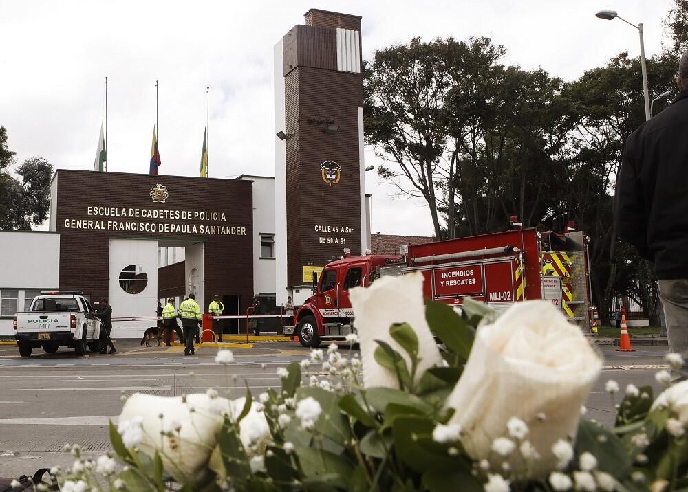 352877_BLU Radio. Escuela de Cadetes de Policía General Santander / Foto: AFP