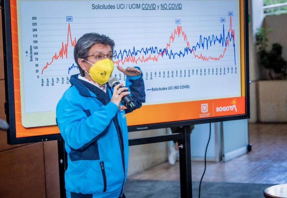 Claudia López ante el aumento de contagios de coronavirus en Bogotá.jpeg