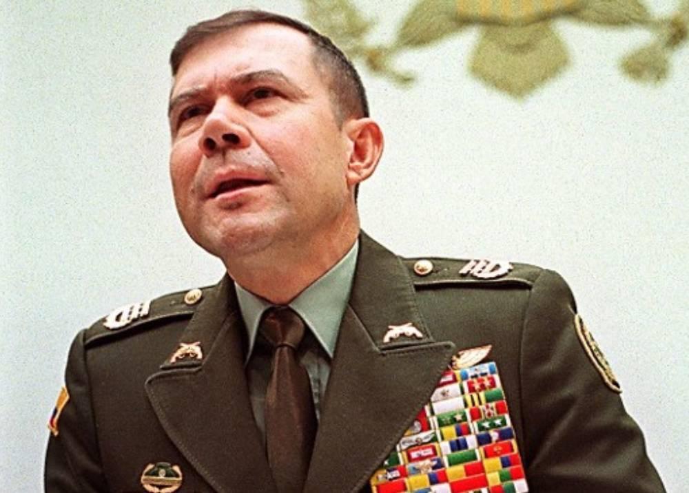 General (r) Leonardo Gallego en sus tiempos de coronel