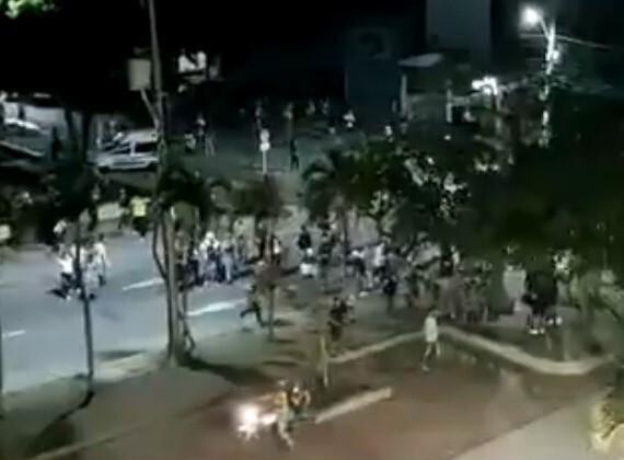 Vandalismo en Barranquilla