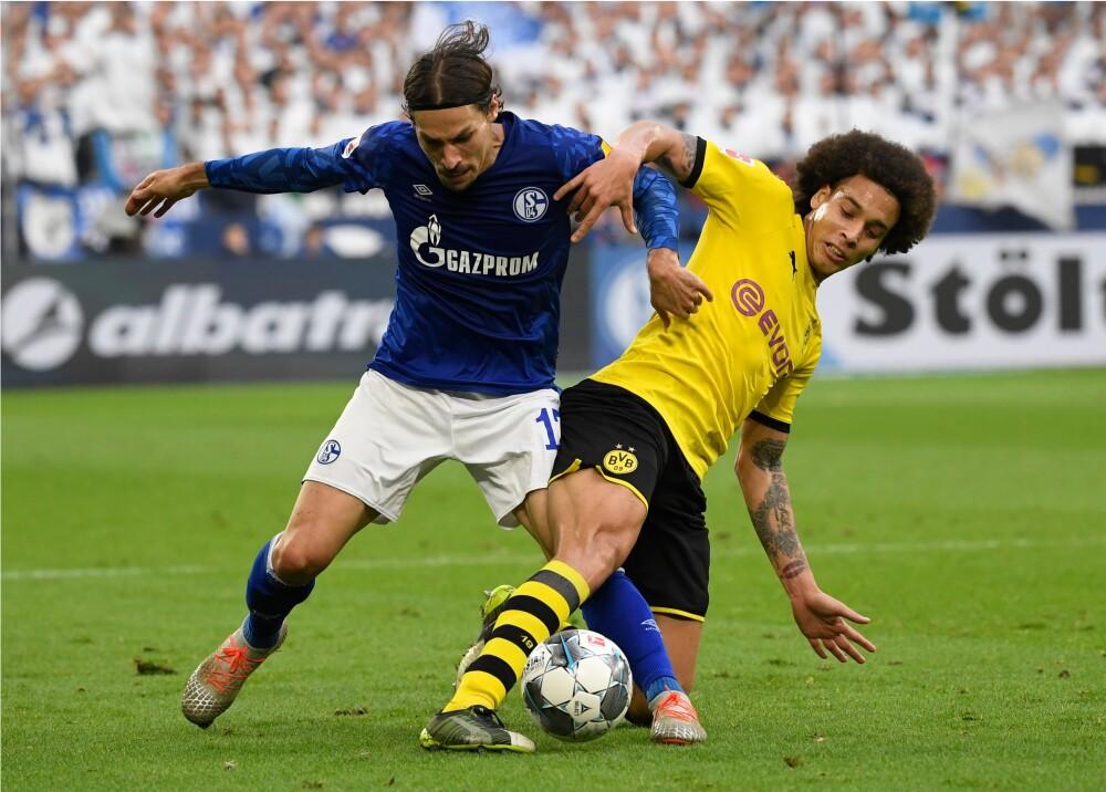 363945_Schalke 04 vs Borussia Dortmund // Foto: AFP