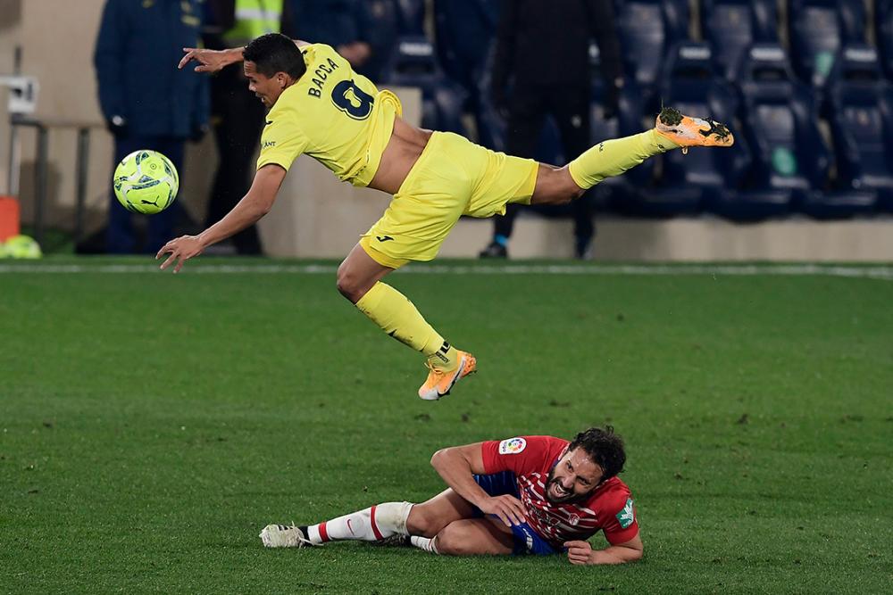 Carlos Bacca, jugador del Villarreal. AFP.png