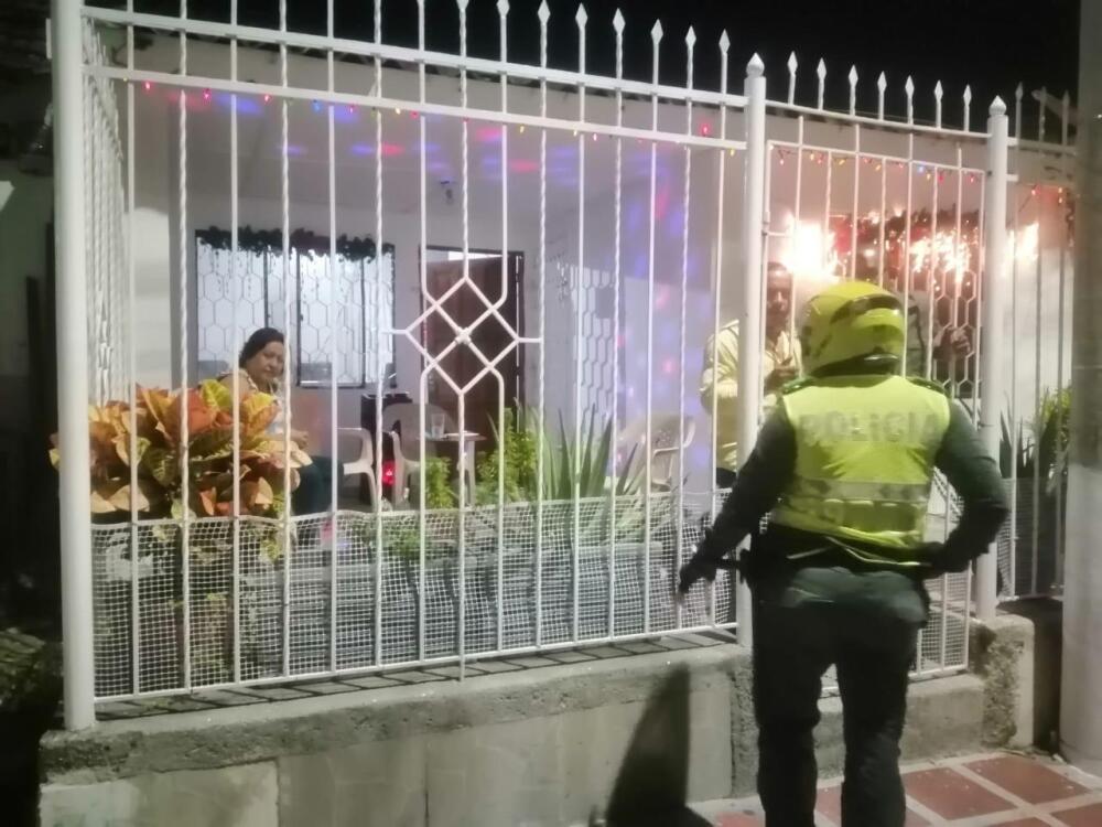 La Policía intervino 329 fiestas en Barranquilla y su área metropolita.