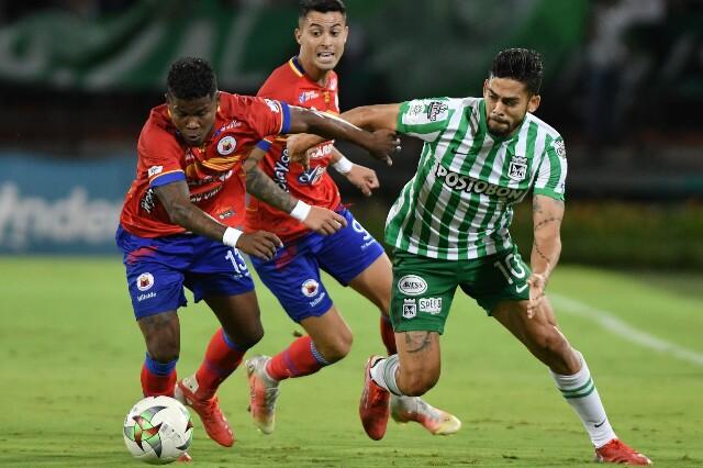 Atlético Nacional contra Deportivo Pasto, en el Atanasio Girardot