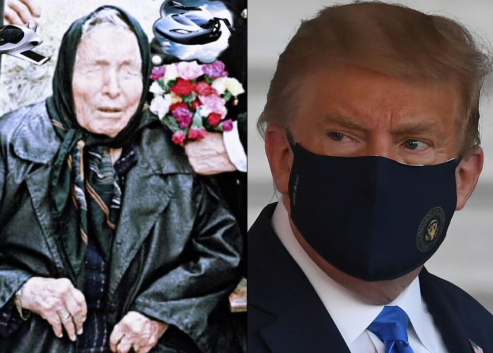 25515_Baba Vanga predijo el coronavirus de Trump-Foto AFP