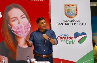 Jorge Iván Ospina Cali pactos reapertura centros comerciales coronavirus