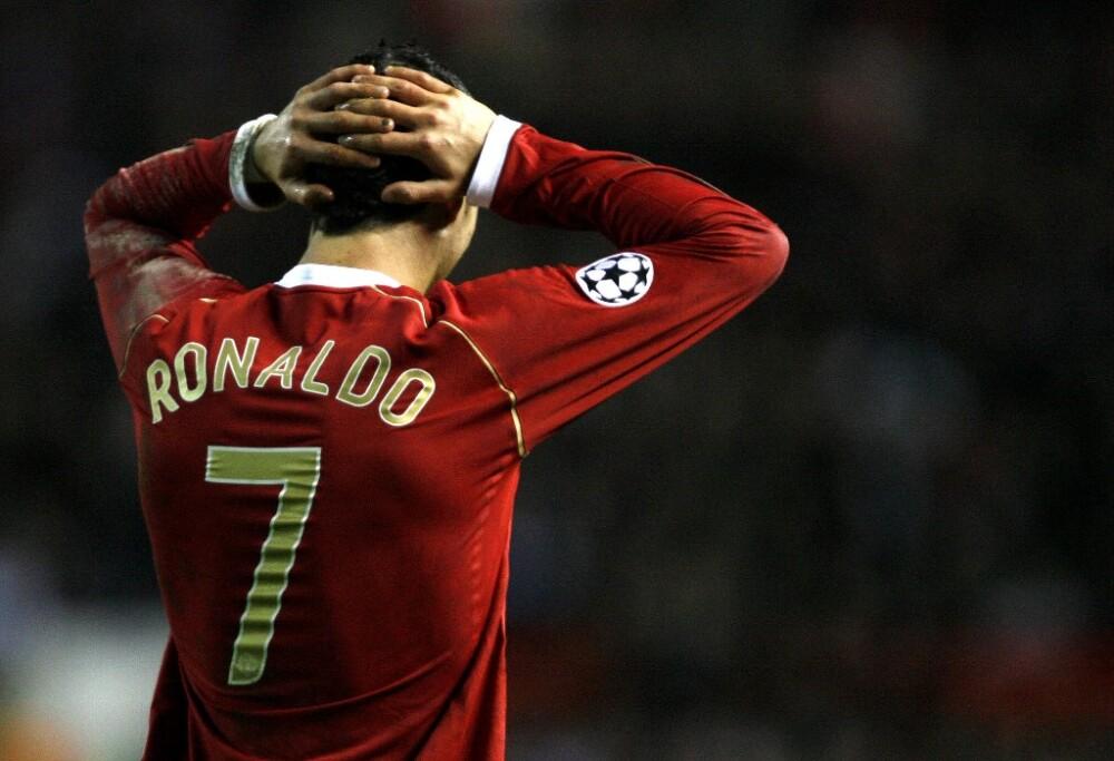 Cristiano Ronaldo en el Manchester United -2007