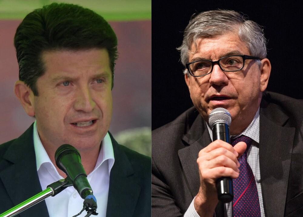 Diego Molano y Cesar Gaviria Foto AFP.jpg