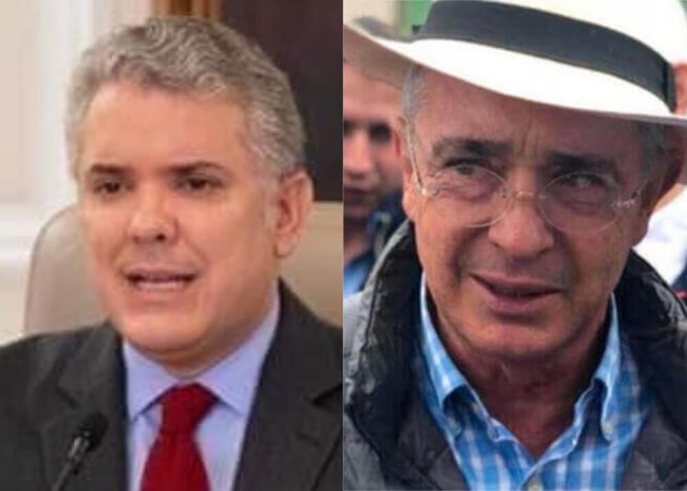 373288_Iván Duque_Álvaro Uribe / Foto: Presidencia / Facebook
