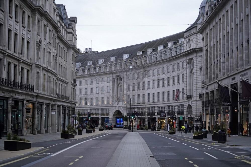 Confinamiento en Reino Unido