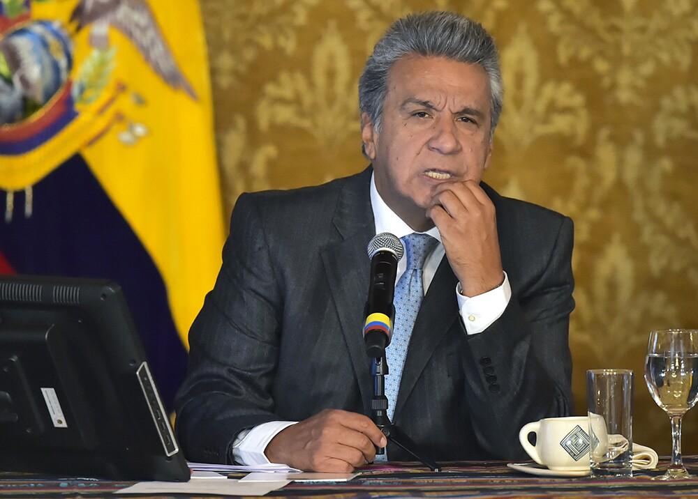291997_Presidente de Ecuador, Lenin Moreno - Foto: AFP