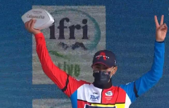 Iván Sosa ganó la etapa reina del Tour de Provence y nuevo líder de la general.