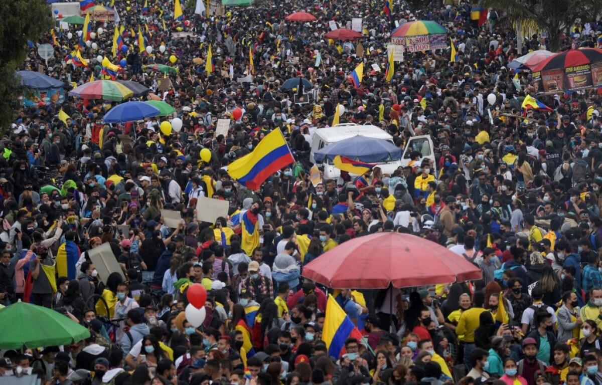 Paro nacional en vivo 18M: nueva jornada de protestas en Bogotá y otras  ciudades