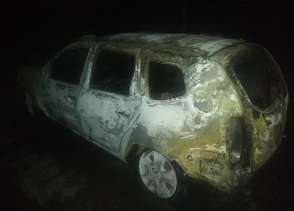335663_BLU Radio. Camionetas de defensores DDHH quemadas en Santander / Foto: Policía Magdalena Medio
