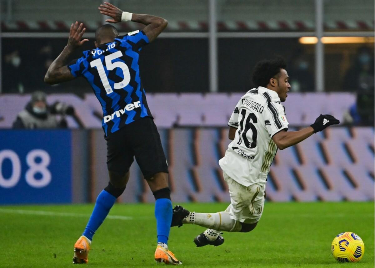 Juventus Juan Guillermo Cuadrado AFP