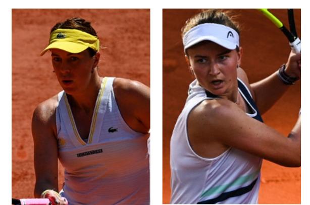 Anastasia Pavlyuchenkova y Barbora Krejcikova jugarán la final de Roland Garros.