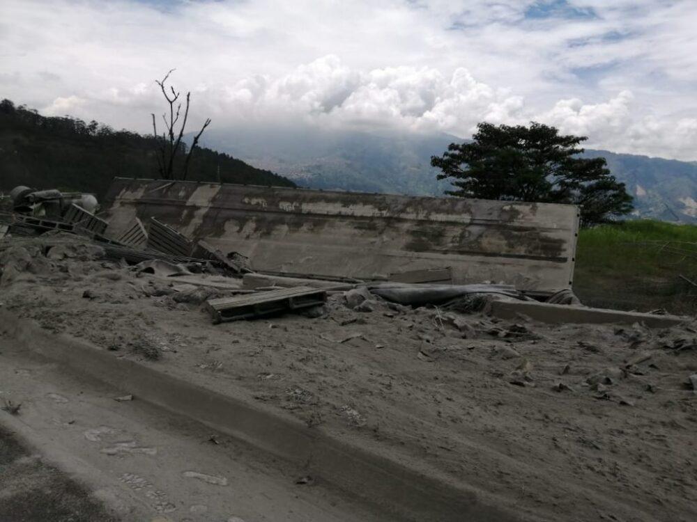 accidente en la autopista Medellín-Bogotá
