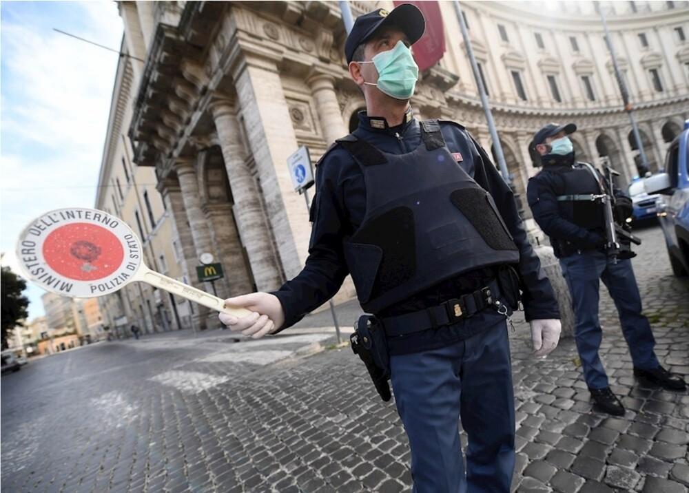 357734_Coronavirus en Italia // Foto: EFE