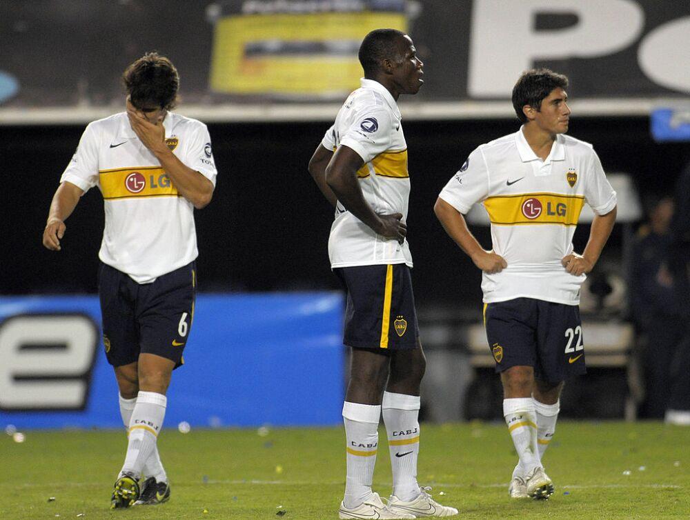 Breyner Bonilla, jugador de Boca Juniors