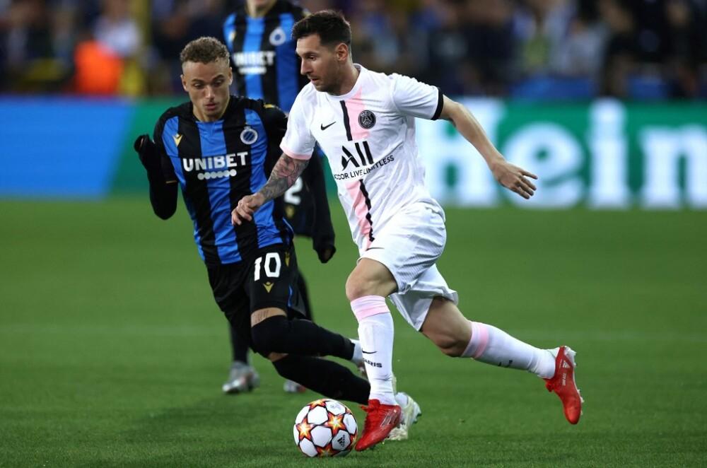 Lionel Messi - Brujas vs. PSG