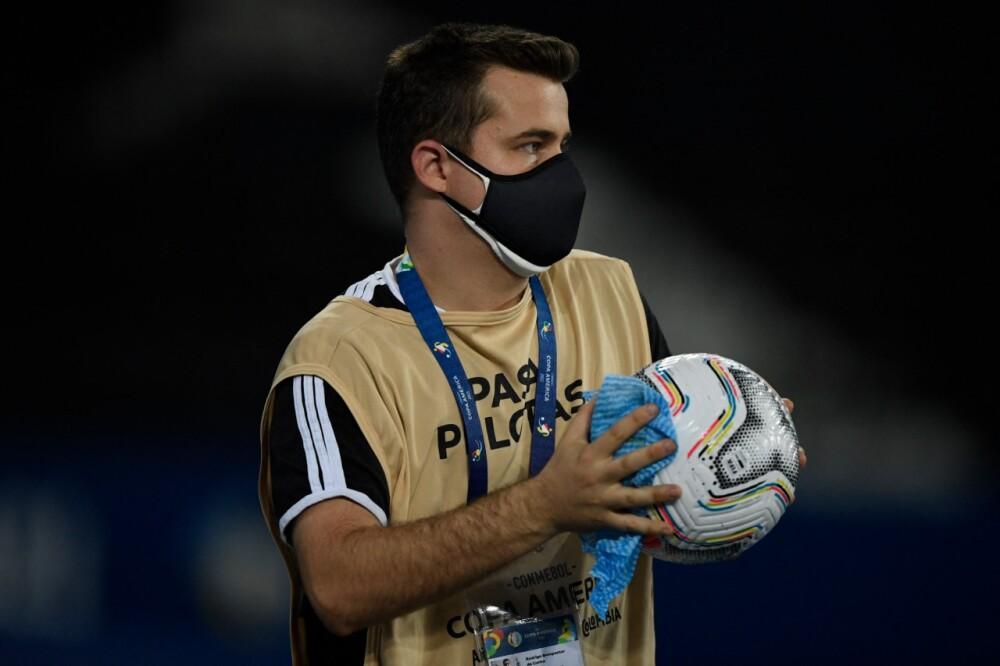Casos de Covid - 19 en la Copa América