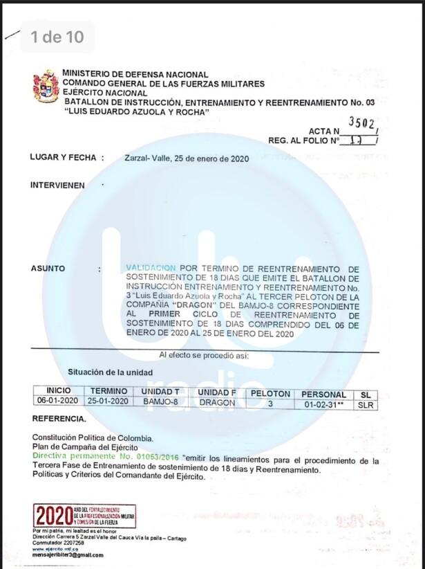 Documentos exclusivos BLU Radio