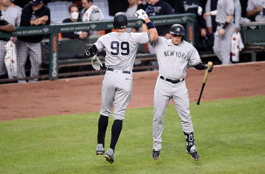 Gio Urshela brilló con los Yankees frente a los Orioles.