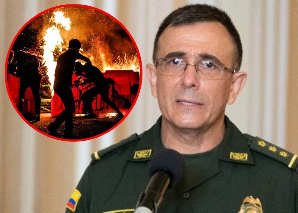 General Jorge Vargas - Vandalismo