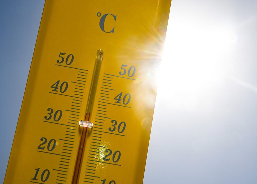 354548_Termómetro midiendo el calor / Foto: AFP