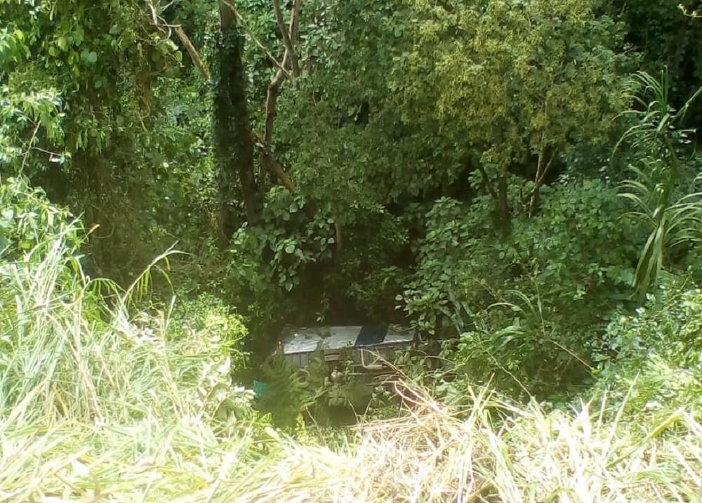 Accidente de camión en Rionegro, Santander