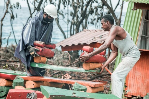 Huracán ETA deja 53 familias damnificadas en la isla de San Andrés