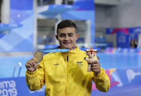 Daniel Restrepo representará a Colombia en los Juegos Olímpicos de Tokio 2020.