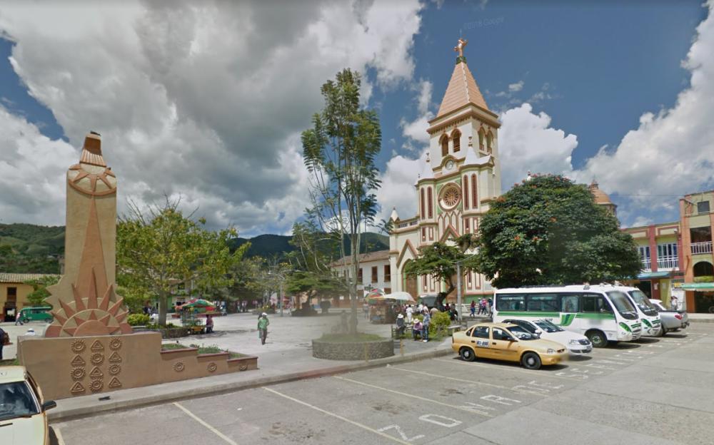 352627_Los hechos ocurrieron en un punto ubicado a 40 minutos del casco urbano. / Foto: Google Maps