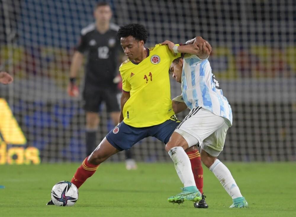 Selección Colombia argentina AFP.