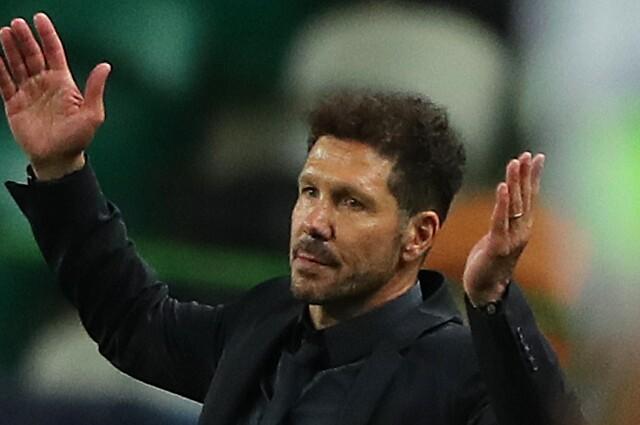Diego Simeone, entrenador argentino