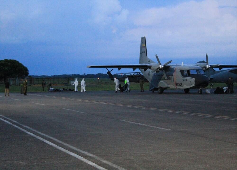 Cuerpos de disidentes de Farc muertos a la base de Apiay Foto suministrada (1).jpg