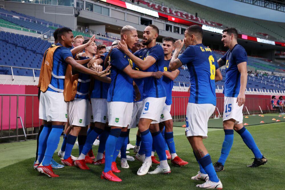 Saudi Arabia v Brazil: Men's Football - Olympics: Day 5
