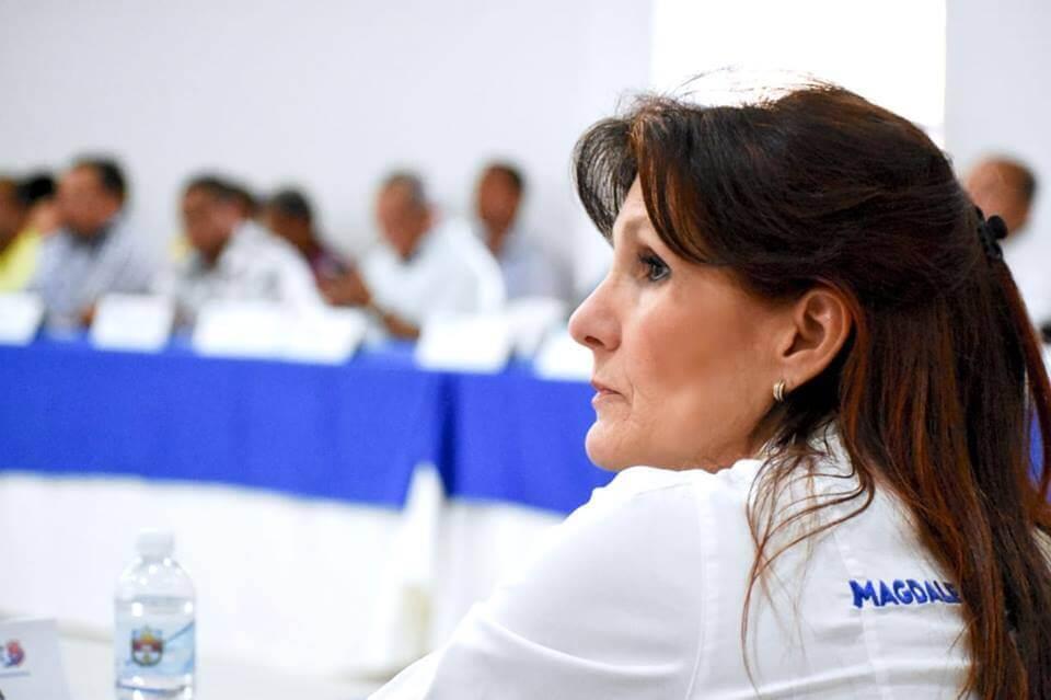 335585_BLU Radio/ Rosa Cotes. Foto: Gobernación del Magdalena