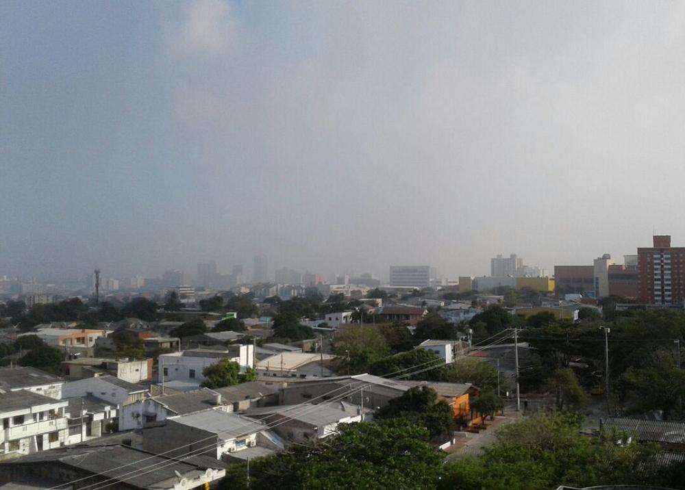 276801_La quema afectó el norte de Barranquilla en la tarde del miércoles. Foto: Cortesía