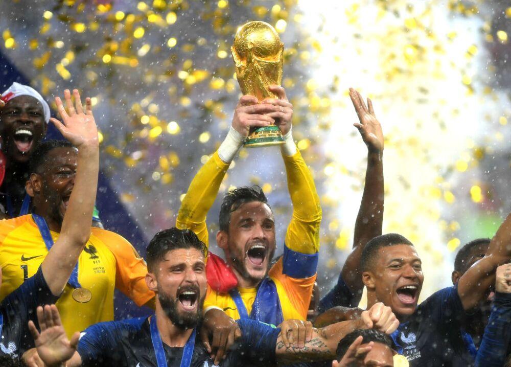 Francia campeón del mundo 2018